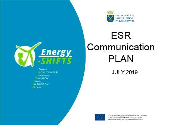 ESR Communication PLAN